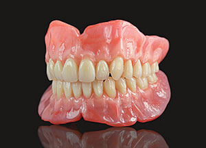 Dr. Nadler can improve your smile using MicroDental Dentures